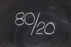 The Power of Collaboration and the 80/20 Rule