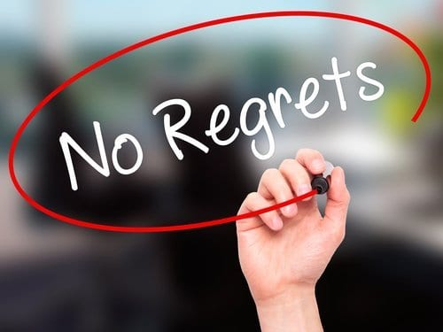 Never Regret – It's ALL Good!