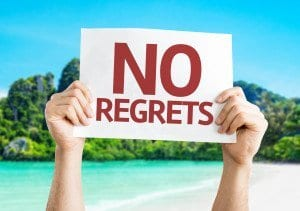 Never Regret:  It's All Perfect!