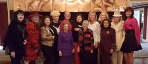 Tina Prevas, Linda Juracek-Lipa, Ginka Gerova-Ortega, Eva Meharry, Lisa Mohn, Bettina Gregg, Katana Abbott, Annette Kolon, Judie Sherman and Cheryl Hall-Lindsay. Front row, Rosemary Bannon, Irene Davis and Maggie Allesee at Forrest Lake Country Club in Bloomfield Hills