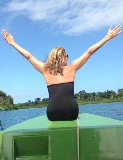 Kat on boat Panama no thighs Katana abbott financial planner min